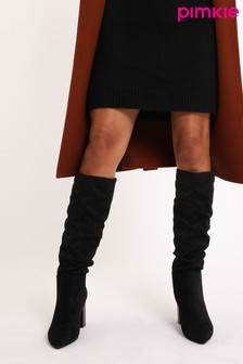 Pimkie Ruched Calf Boot