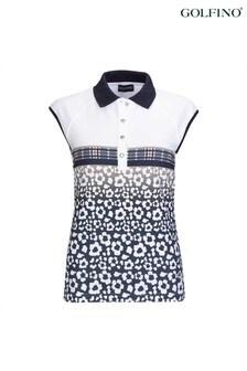 Golfino Blossom Printed Ladies Polo Shirt
