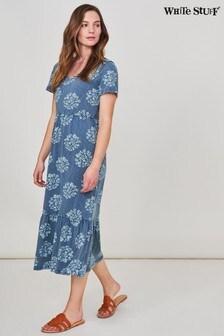 White Stuff Denim Emily Fairtrade Jersey Dress