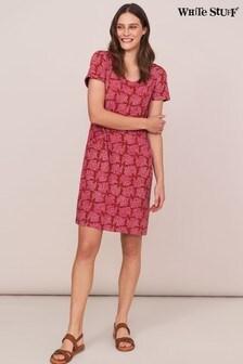 White Stuff Pink Selina Fairtrade Dress