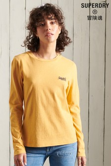 Superdry Organic Cotton Classic Long Sleeved Top