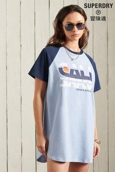 Superdry Cali Surf Raglan T-Shirt Dress