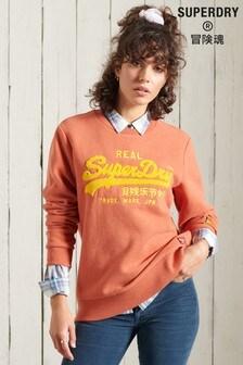 Superdry Vintage Logo Chenille Crew Sweatshirt