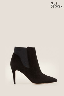 Boden Black Elsworth Ankle Boots