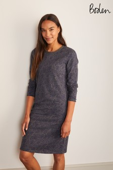 Boden Grey Sweatshirt Dress