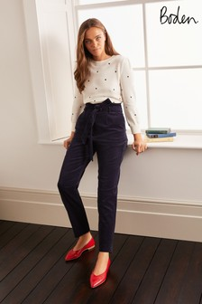 Boden Blue Chiswick Cord Trousers