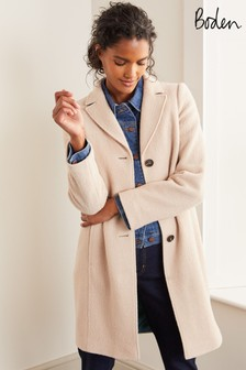 Boden Mink Knight Coat