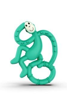Matchstick Monkey Green Mini Monkey Teether