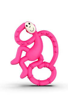 Matchstick Monkey Pink Mini Monkey Teether