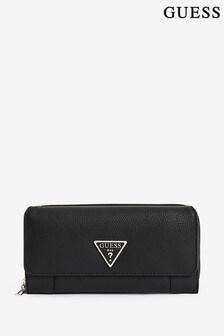 Guess Black Destiny Clutch Bag