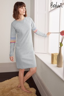 Boden Grey Ava Sweatshirt Dress