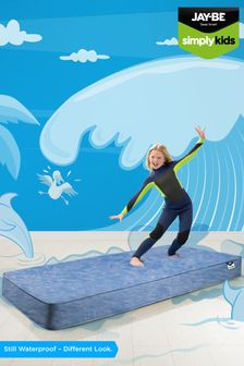JayBe Simply Kids Waterproof AntiMicrobial Foam Free Sprung Mattress