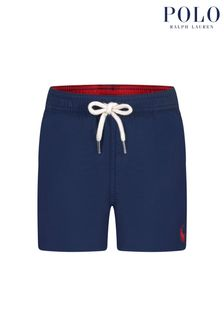 Ralph Lauren Kids Baby Boys Navy Swim Shorts