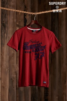 Superdry Re-Worked Classics Appliqué T-Shirt