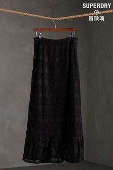 Superdry Morgan Lace Maxi Skirt