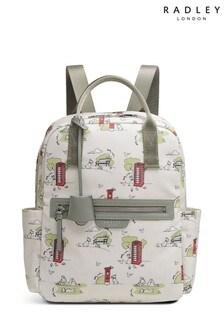 Radley London Maple Cross Park Life Medium Zip Top Backpack