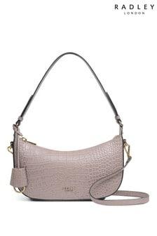 Radley London Summerstown Faux Croc Small Zip Top Multiway Bag