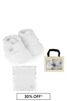 UGG Bixbee Booties & Lovey Blanket Gift Set