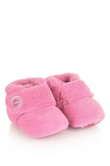 UGG Fuchsia Towelling Pre Walker Boots