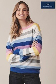 Crew Clothing Blue Rock Stripe Jumper