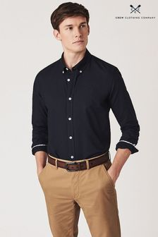 Crew Clothing Blue Crew Slim Oxford Shirt