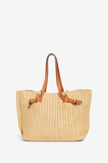 Paper Weave Shopper Bag