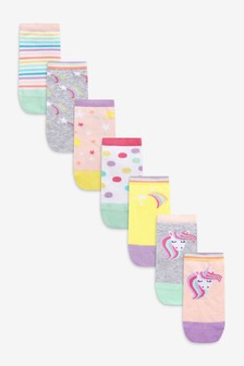7 Pack Trainer Socks