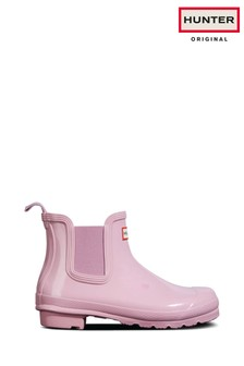 Hunter Original Gloss Chelsea Boots