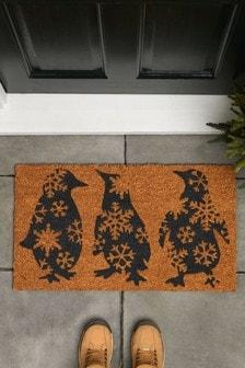 Dancing Penguins Doormat