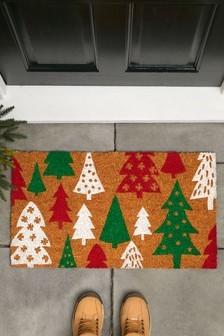 Retro Trees Doormat
