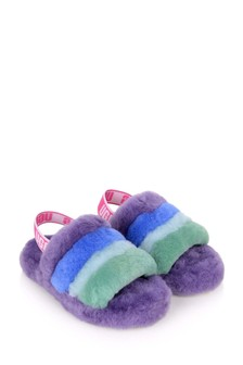 Girls Multicolour Fluff Yeah Slides