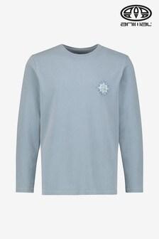 Animal Grey Mandala Long Sleeve T-Shirt