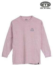 Animal Allium Purple Taylor Long Sleeve T-Shirt