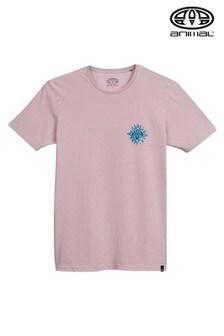 Animal Purple Mandala Deluxe Graphic T-Shirt