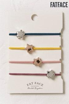 FatFace Blue Star Hair Ties