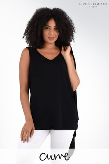 Live Unlimited Curve Black Jersey Vest