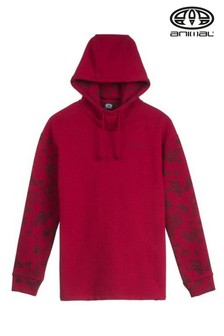 Animal Red Orchard Hoody