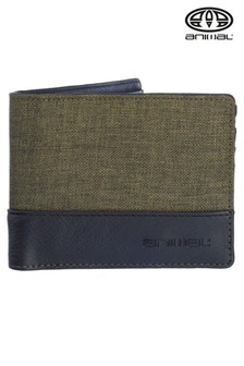 Animal Green Avalon Bi-Fold Wallet