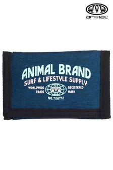 Animal Blue Tonga Tri-Fold Wallet
