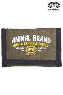 Animal Green Tonga Tri-Fold Wallet