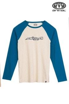Animal Brown Chronicle Long Sleeve Graphic T-Shirt