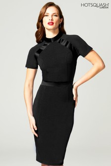 HotSquash Black Turtle Neck Dress
