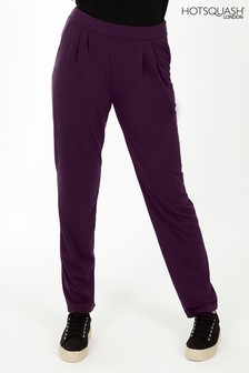 HotSquash Damson Slouch n Glam Trousers