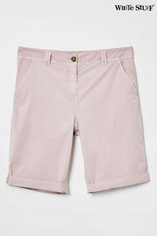 White Stuff Pink Helter Skelter Shorts