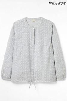 White Stuff Denim Dazy Drawstring Shirt