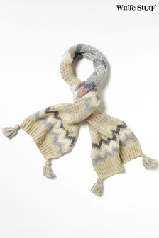 White Stuff Natural Laurie Chunky Scarf