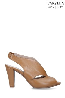 Carvela Camel Arabella Heeled Sandals