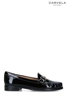 Carvela Black Click Patent Loafers