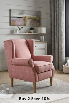 Sherlock II Armchair With Light Legs