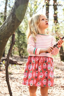 Boden Red Hotchpotch Dress